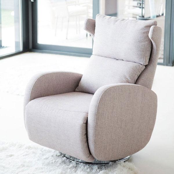 Fama Kim Recliner Armchair in fabric