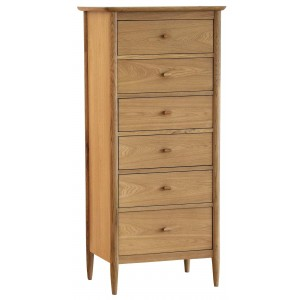 Ercol Teramo 2685 6 Drawer Tall Chest-0