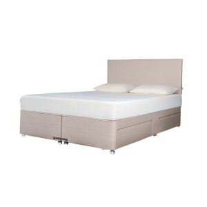 Tempur Ardennes Divan Base (pictured with mattress and headboard)