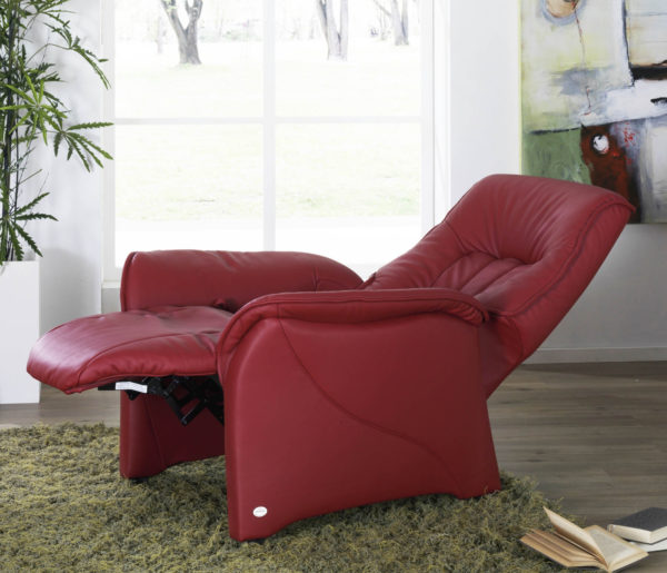 Himolla Rhine Small Manual Recliner Armchair-39836