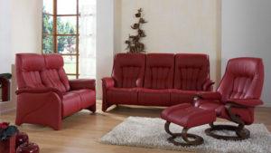 Himolla Rhine 2 Seater Fixed Sofa-39817