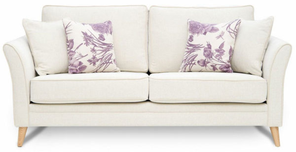 Ella Sofa with extra scatter cushions