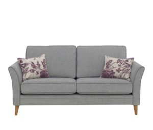 Ella Sofa with scatter cushions in contrast fabric at an extra charge
