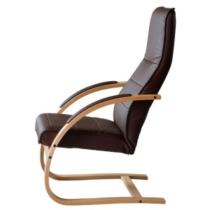 Como leather chair