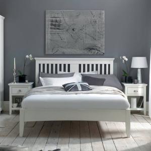 Hampshire Bedframe in Bright White 2