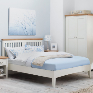 Hampshire Bedframe in Two-Tone