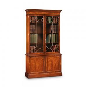 Iain James AMC86 2 Door Bookcase Mahogany