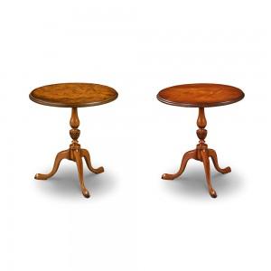 Iain James W173 Wine Tables in Walnut & Mahogany
