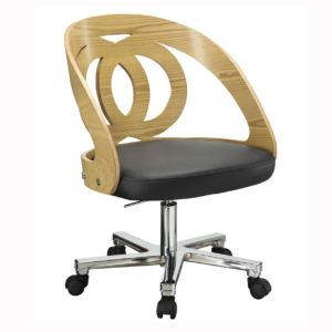 Poise Office Chair in oak