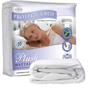 Plush 4'0 Small Double Mattress Protector-0