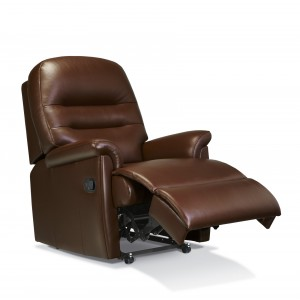Keswick Standard Manual Recliner Chair in leather-0