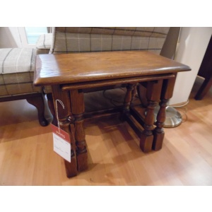 Showroom Clearance: Old Charm Heritage 1494 Nest of Tables-0