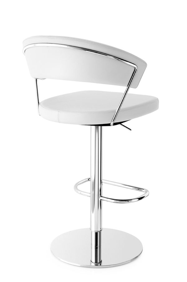 Calligaris CB/1088-LH New York Bar Stool in real leather-54717