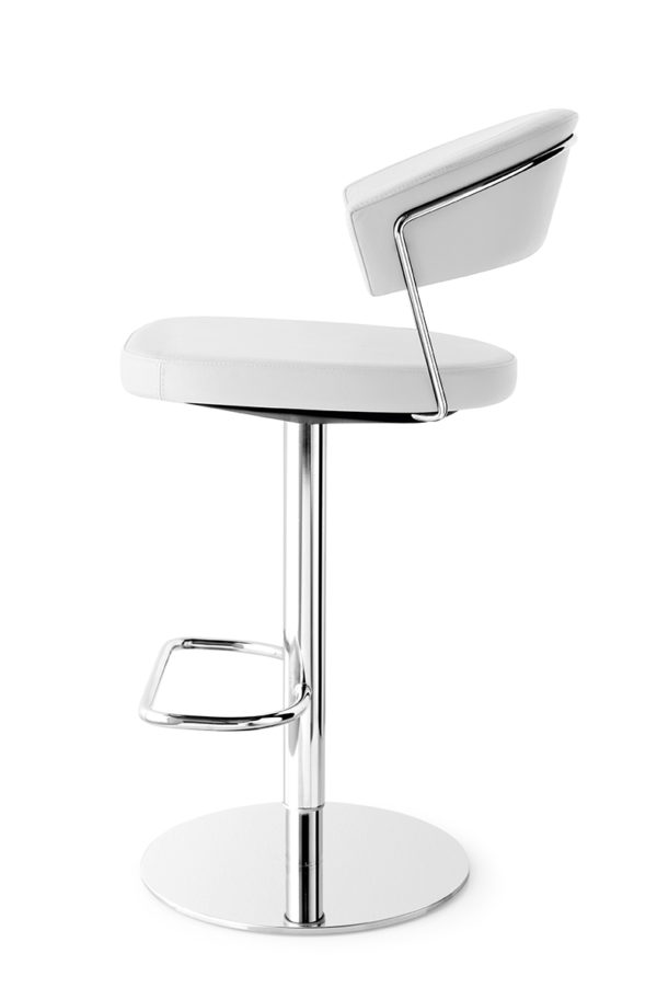Calligaris CB/1088-LH New York Bar Stool in real leather-54719