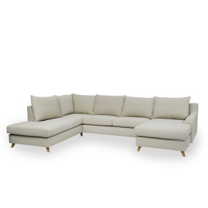 Louis U-Shaped Chaiselongue Corner Sofa