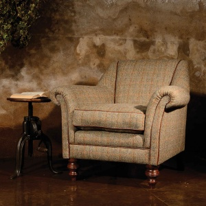 Tetrad Harris Tweed Dalmore Accent Chair (option A)