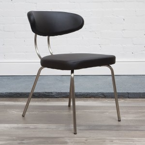 Margot Dining Chair in black
