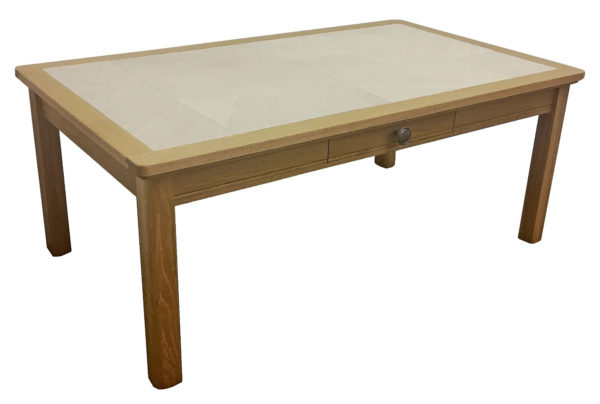 Anbercraft Beaumont BMT03D Small Coffee Table with Tile Top