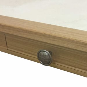 Anbercraft Beaumont BMT06D Large Coffee Table drawer detail