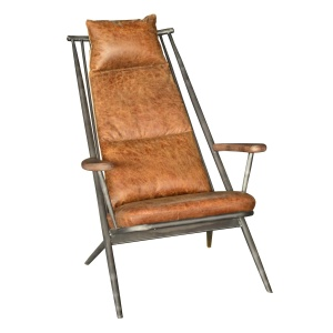 Elliot Chair in brown