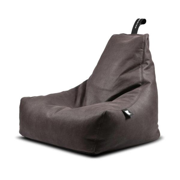 Mighty B Luxury Bean Bag in slate