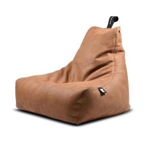 Mighty B Luxury Bean Bag in tan