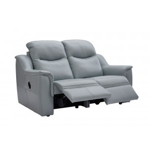G Plan Firth 2 Seater Recliner Sofa in leather