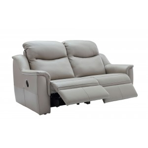 G Plan Firth 3 Seater Recliner Sofa in leather