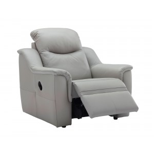 G Plan Firth Recliner Armchair in leather