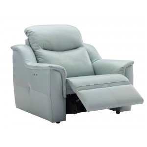 G Plan Firth Large Recliner Armchair in leather