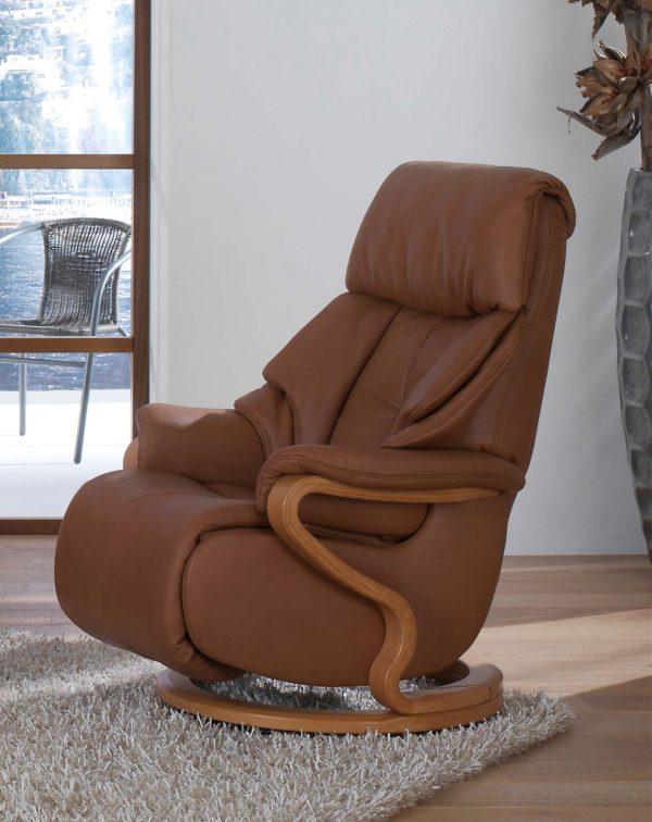 Himolla Chester Swivel Recliner Chair
