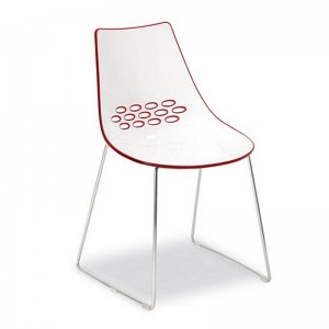 Calligaris Jam Chair with sled base