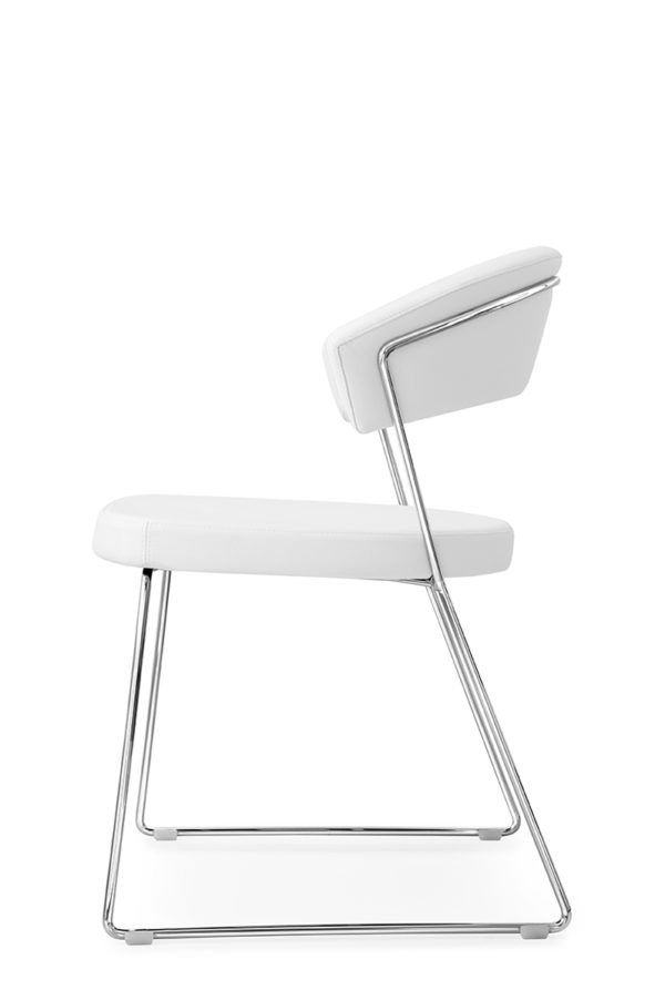 Calligaris New York Chair with sled base