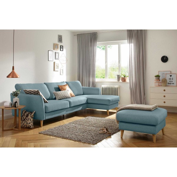 Horatio Chaise End Sofa and Footstool