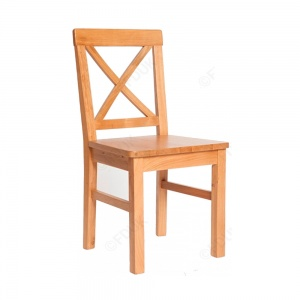 York Dining Chair with wooden seat