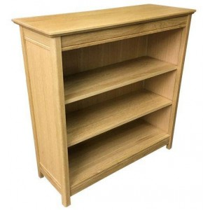 Anbercraft Beaumont BMT20 Small Bookcase with solid top