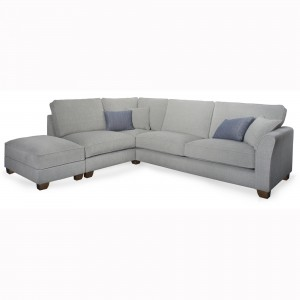 Miriam Corner Sofa including footstool with storage, 1.5 seater, corner & 3 seater with 1 arm