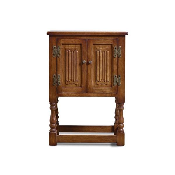 Old Charm 1582 Pedestal Cabinet
