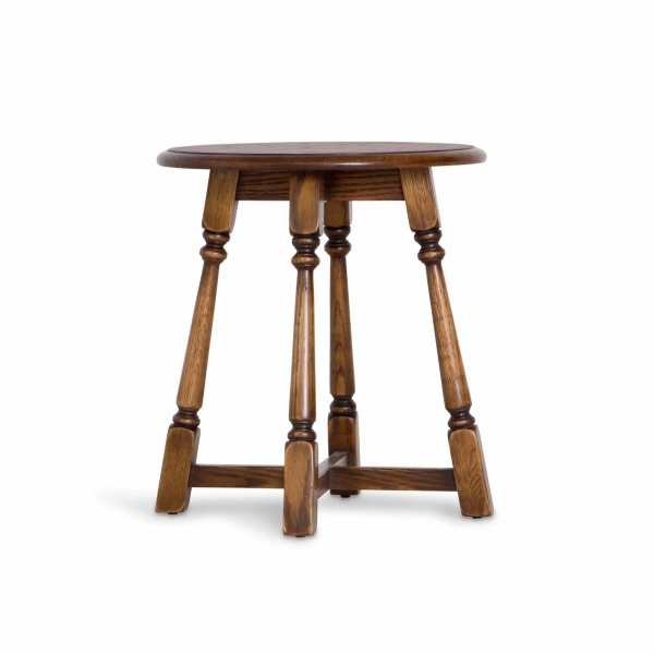Old Charm 3177 Round Lamp Table