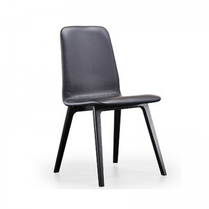 Skovby SM92 Dining Chair in leather