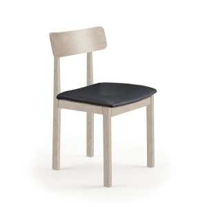 Skovby SM96 Dining Chair with leather seat