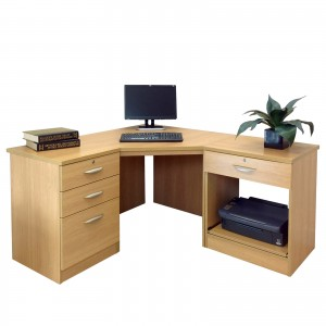 Optimum Office Set 12 in Classic Oak