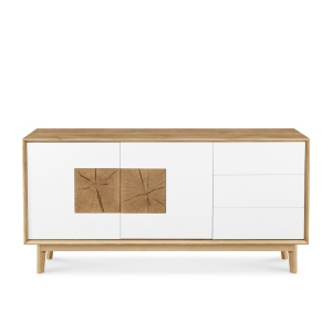 Domino Oak Large Sideboard