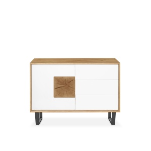 Domino Oak Small Sideboard