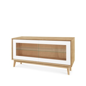 Domino Oak 218 Small TV Unit