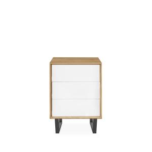 Domino Oak 224 3 Drawer Sideboard
