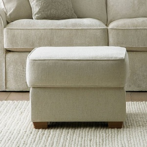 Collins & Hayes Small Footstool fixed cover