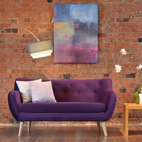 Jasper Sofa in Plush Velvet
