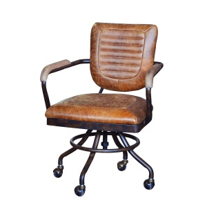 Mitchell Office Chair in brown