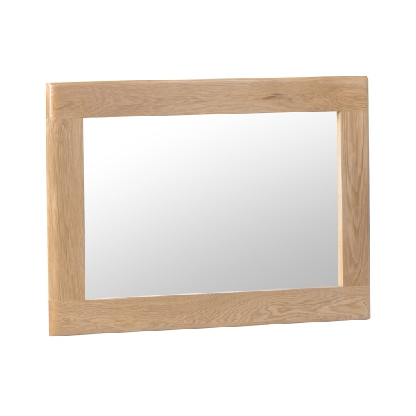 Nantes Oak Small Wall Mirror